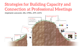 Strategies for Building Capacity at Professional Conferences