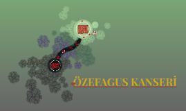 ÖZEFAGUS KANSERİ