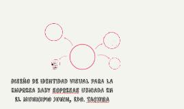 DISEÑO DE IDENTIDAD VISUAL PARA LA EMPRESA BABY SOPRESAS UBI