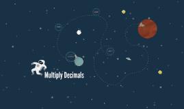 Multiply Decimals