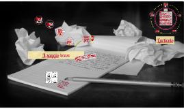 Copy of Il saggio breve