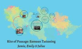 Samoan Tatooing