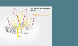 TCF: Test de Connaissance de Français