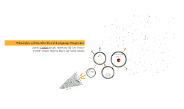 Copy of NCCSFL Principles of Effective World Language Programs