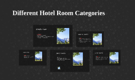 Different Hotel Room Categories