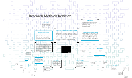 Research Methods Revision