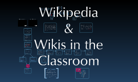Wikipedia and Wikis in the Classroom