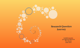 Research Question Journey