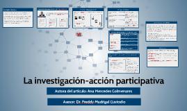 Copy of La investigación-acción participativa