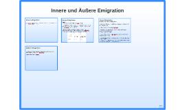 Innere und Äußere Emigration