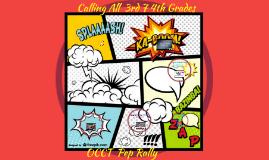 Copy of Copy of Calling All 3rd Grade Superheroes