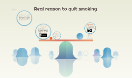 Real reason to quit smoking