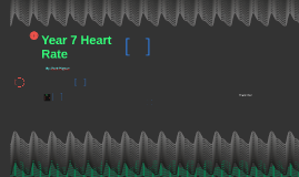 Year 7 Heart Rate