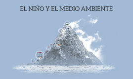 Copy of EL NIÑO Y EL MEDIO AMBIENTE