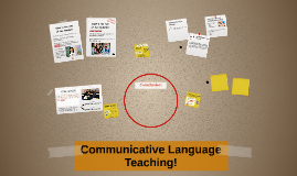 Comunicative Learning Teaching!