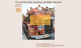 Fire &Life Safety Education - WDT overview