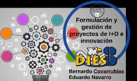 Formulación y gestión de proyectos de I+D e innovación
