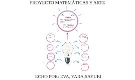 PROYECTO MATEMATICAS Y ARTE