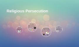 Copy of Copy of Religious Persecution
