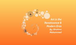 Art in the Renaissance & Contemporary Eras