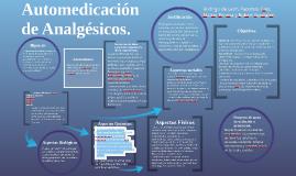 Automedicacion de Analgesicos