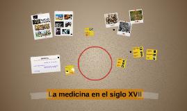 La medicina en el siglo XVII