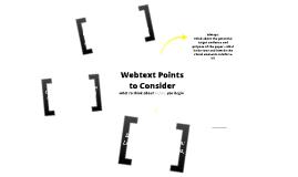Effective Blogging : Web Text