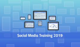 Social Media Training 2017