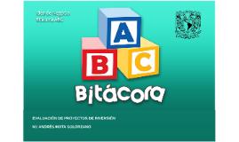 Proyecto Bitácora ABC