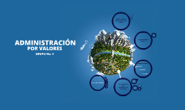 Copy of Copy of ADMINISTRACIÓN POR VALORES