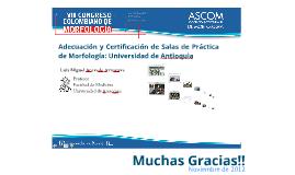 Copy of Adecuación y Certificación de Salas de Práctica