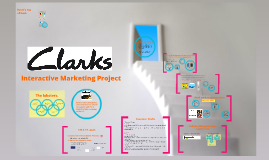 Clarks - Interactive Marketing Project