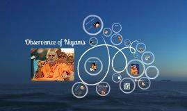 Observance of Niyams