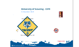 University of Scouting - C619