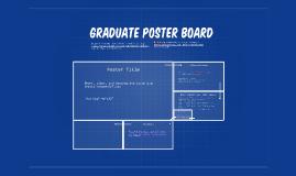 Graduate Poster Board