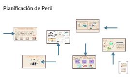 Planificación de Perú