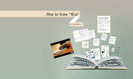 """How to Scan """"Text"""""""