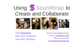 Using Soundtrap.com to Create and Collaborate