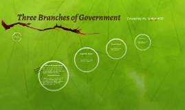 (2) Three Branches of Government