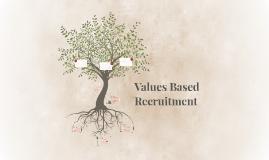 Values Based Recruitment