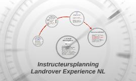 Instructeursplanning