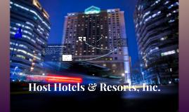 Host Hotels & Resorts (school)
