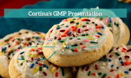 Cortina's GMP Presentation