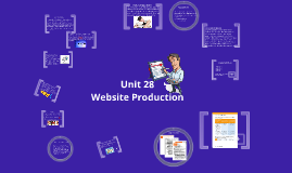 Copy of Introduction to Website Production Unit