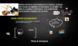 DISEÑO DE UN PLAN DE CAPACITACION EN ARTES PLASTICAS Y ESCEN