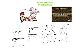Fundamentos de informatica II