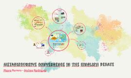 Metadiscursive convergence in the Singlish debate