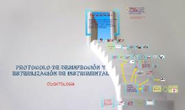 Copy of protocolo de desinfección y esterilización de instrumetnal odontológico