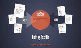 Getting Past No-Negotiating in Difficult Situations