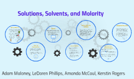 Solutions, Solvents, and Molarity